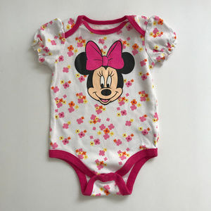 Disney Minnie Mouse 6-9 Months Bodysuit Baby Girl